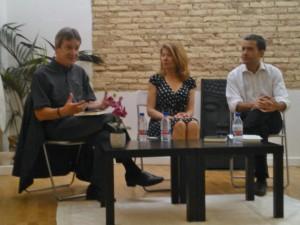 Diego Isabel con Paco Álvarez y Lola López
